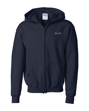 Picture of SHSH Daily Uniform Youth Full Zip Hoodie