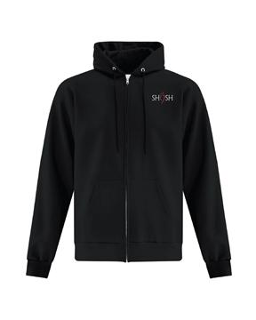Picture of SHSH Daily Uniform Adult Full Zip Hoodie (Black)